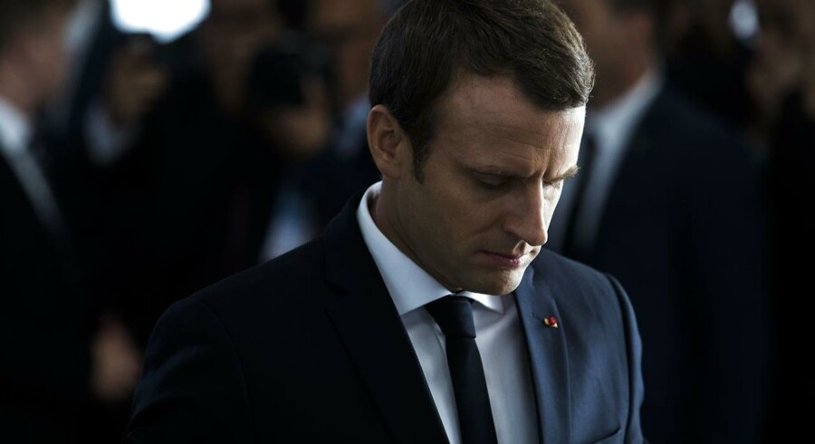 Den franske præsident, Emmanuel Macron, fordømmer sit lands samarbejde med nazisterne under Holocaust,