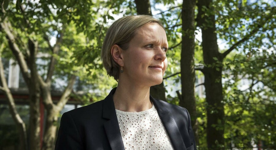 Cecilia Lonning-Skovgaard (V), beskæftigelses- og integrationsborgmester i København mener, at Frank Jensen skal pådrage sin røde venner på Rådhuset, hvis han vil gøre København til en erhvervsvenlig by.