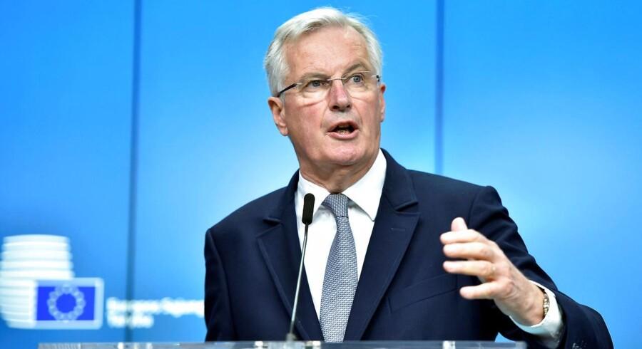 Det bliver den tidligere franske udenrigsminister og EU-kommissær, Michel Barnier, der bliver chefforhandler.