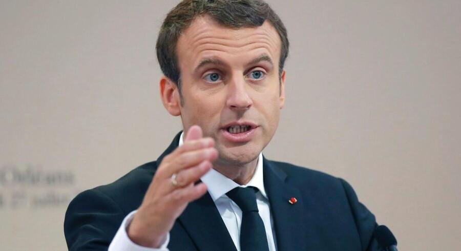 »Meget lidt tyder på, at Macron har mere lyst til migranter end forgængeren Hollande.«