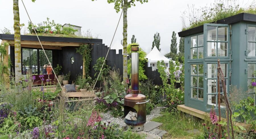 Havedesigner Dorthe Kvist kaldte sin have for en urban oase, der er bygget af lokale materialer og genbrug. Panterne er vilde, spiselige, robuste, insektvenlige og tilpasset det danske klima. Haven indeholder de største havetendenser lige nu, som er bæredygtighed, biodiversitet, genbrug, spiselighed, selvforsyning og en ophævelse af grænsen mellem ude og inde. Drivhuset, der er designet og bygget delvist af Dorthe Kvist, står her på en tagbund og fungerer også som et mini-uderum.