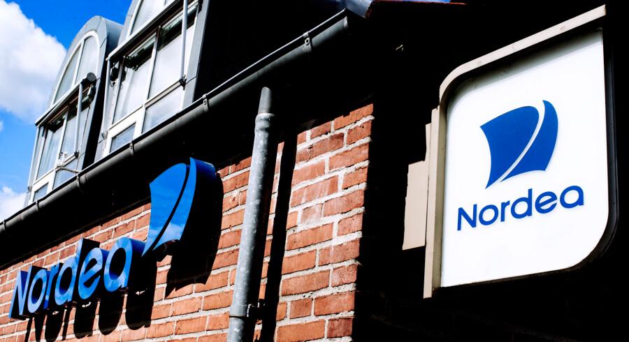 Nordea er i øjeblikket hårdt ramt af kundeflugt, men ellers er det et særsyn, at kunder skifter bank, selv de bliver mere og mere utilfredse, som årene går. Arkivfoto: Bax Lindhardt