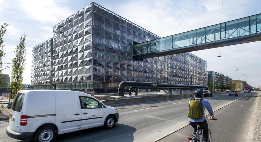 Niels Bohr Bygningen på Jagtvej på Nørrebro.