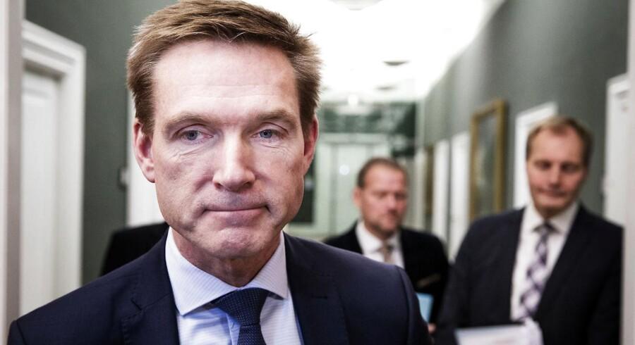 Efter en uge med mange og intense forhandlinger har regeringen ikke indkaldt Dansk Folkeparti til forhandlinger lørdag (Foto: Jens Astrup/Scanpix 2017)