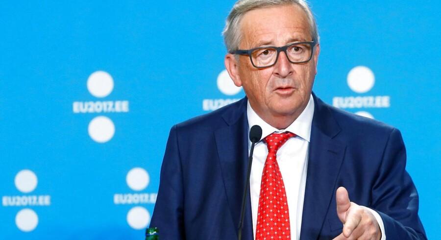 EU-Kommissionens formand, Jean Claude Juncker, foreslår at forene sin position med EU-præsidentens, så det bliver til én stilling engang i fremtiden.