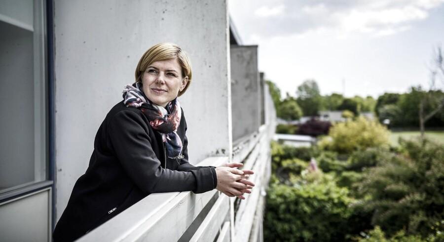 Stine Brix, folketingsmedlem for Enhedslisten. Sted: Albertslund