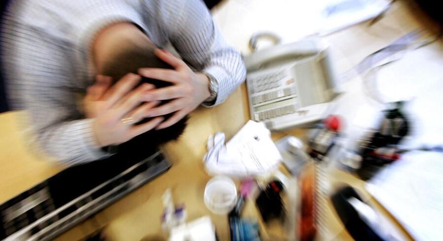 Arkivfoto. Voksende stressproblemer blandt vidensarbejdere får nu Akademikernes Centralorganisation (AC) til at gå nye veje for at fremme trivslen blandt medlemmerne.