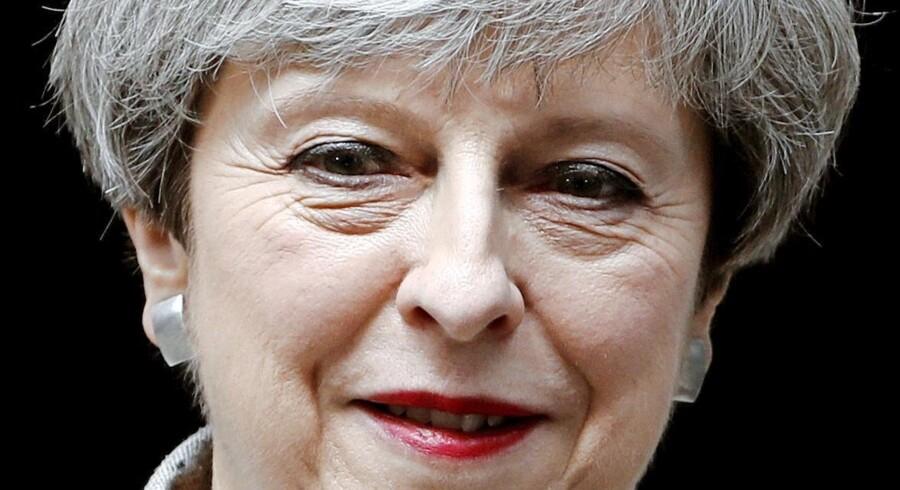Premierminister Theresa May er på en svær mission, når hun i Hamburg skal overbevise sine EU-kolleger om, at der er helt styr på Brexit-planlægningen. Arkivfoto: Stefan Wermuth/Reuters