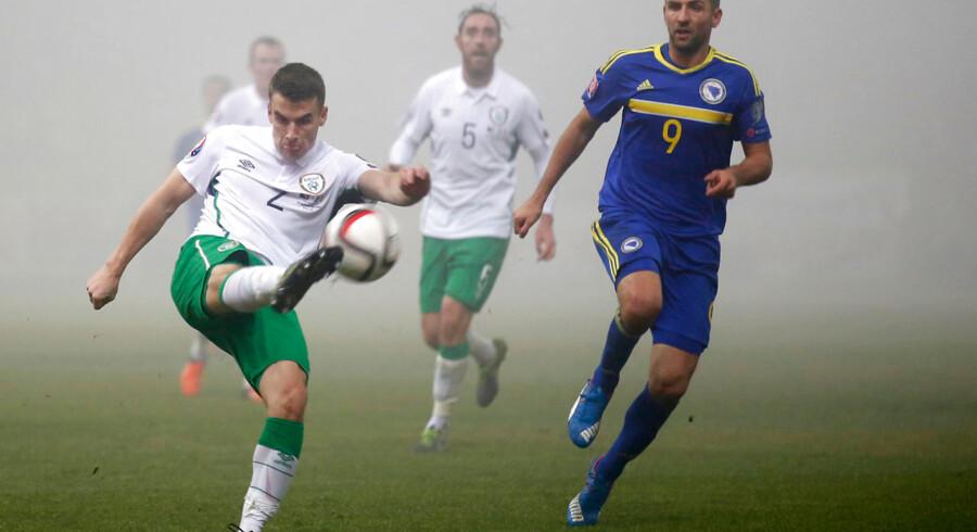 Bosnien/Herzegovina og Irland spillede fredag aften 1-1 i den første af to EM-playoffkampe.