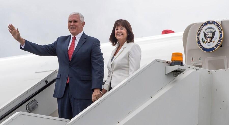 Arkivfoto. USA's vicepræsident Mike Pence besøger tirsdag Georgien.