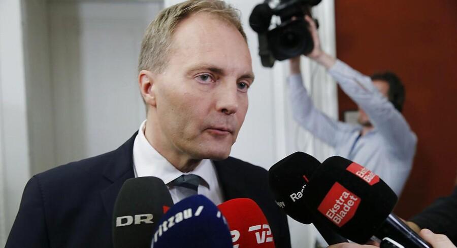 Arkivfoto: Men udtalelsen, der faldt på et møde i Miljøstyrelsen i november, skal ikke have konsekvenser for ministeren, mener Dansk Folkepartis gruppeformand, Peter Skaarup.