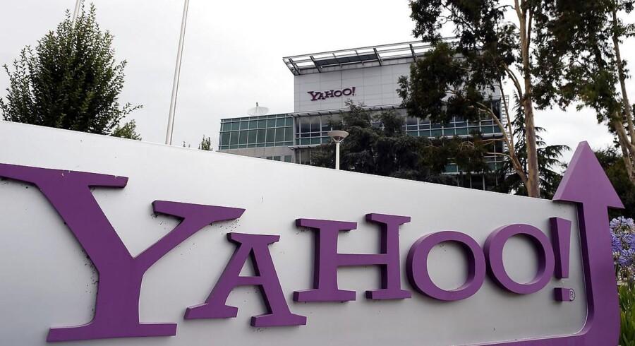 Telegiganten Verizons overtagelse af Yahoo bliver nu endelig til noget, men hackerangrebene har trukket forhandlingerne ud. Arkivfoto: Justin Sullivan, AFP/Getty Images/Scanpix