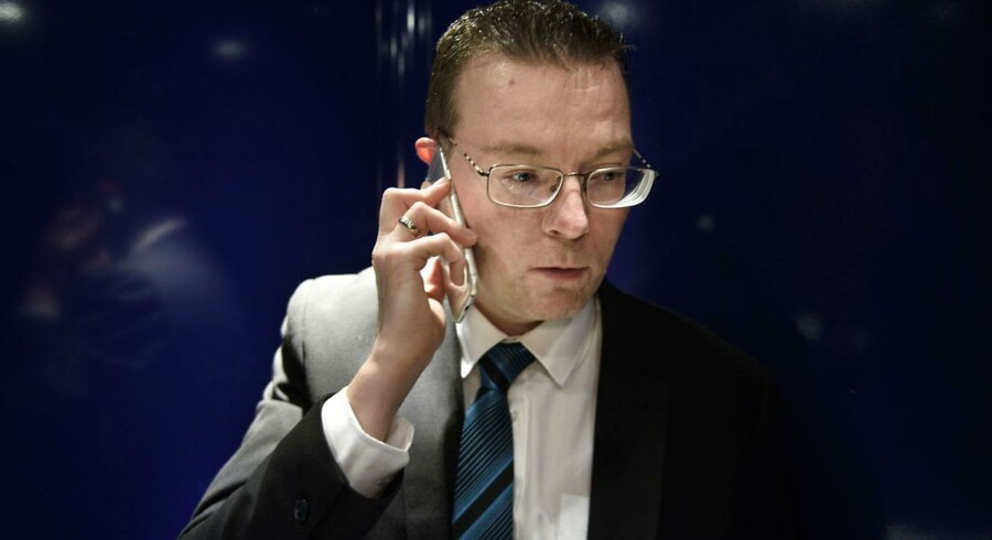 Kenneth Kristensen Berth, Dansk Folkeparti. (Foto: NIELS AHLMANN OLESEN/Scanpix 2016)