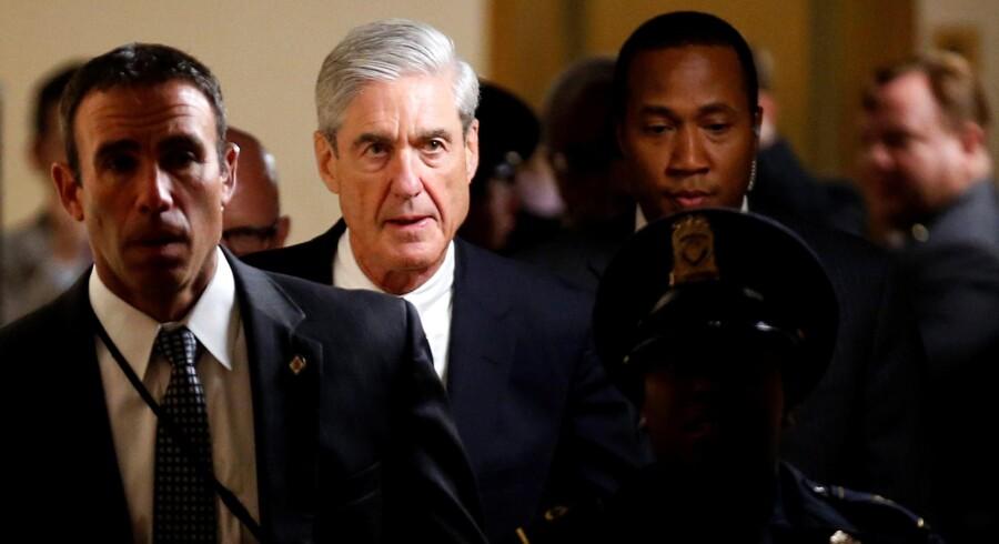 Robert Mueller, der leder undersøgelsen af påstået russisk indblanding i den amerikanske valgkamp sidste efterår, har i en henvendelse til Det Hvide Hus bedt om, at samtlige dokumenter vedrørende mødet mellem præsidentens søn og en russisk advokat bevares. Reuters/Joshua Roberts