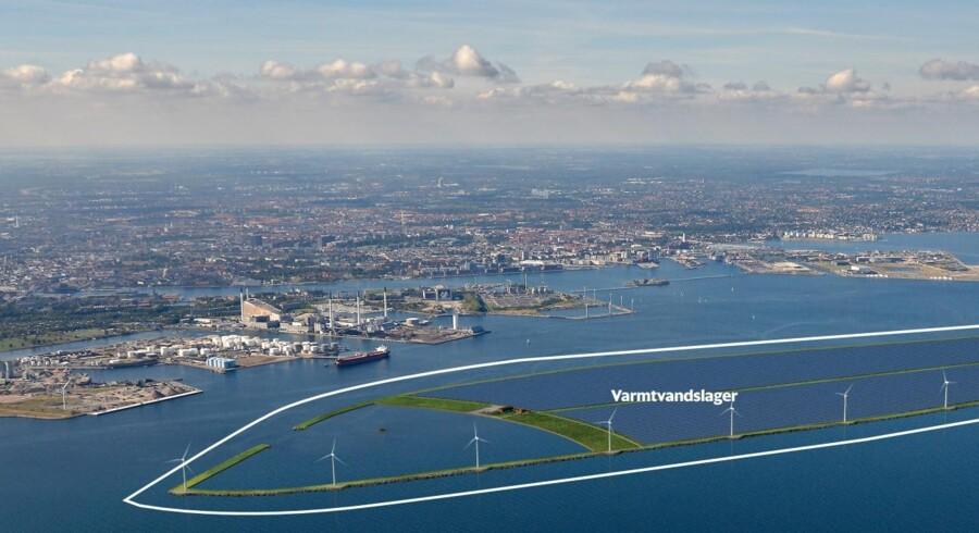 European Energy vil blandt andet iværksætte et projekt, der skal lagre overskuds-el som fjernvarme i et kæmpe bassin i Øresund.