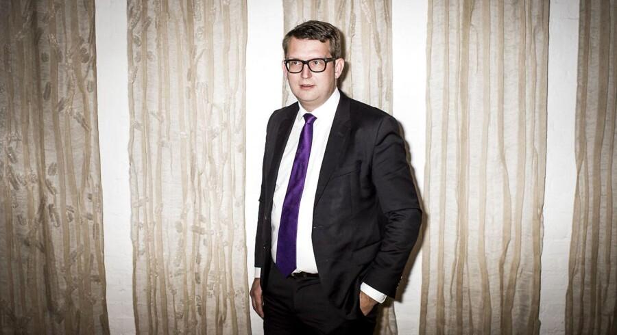 Portræt af beskæftigelsesminister Troels Lund Poulsen. Foto: Asger Ladefoged