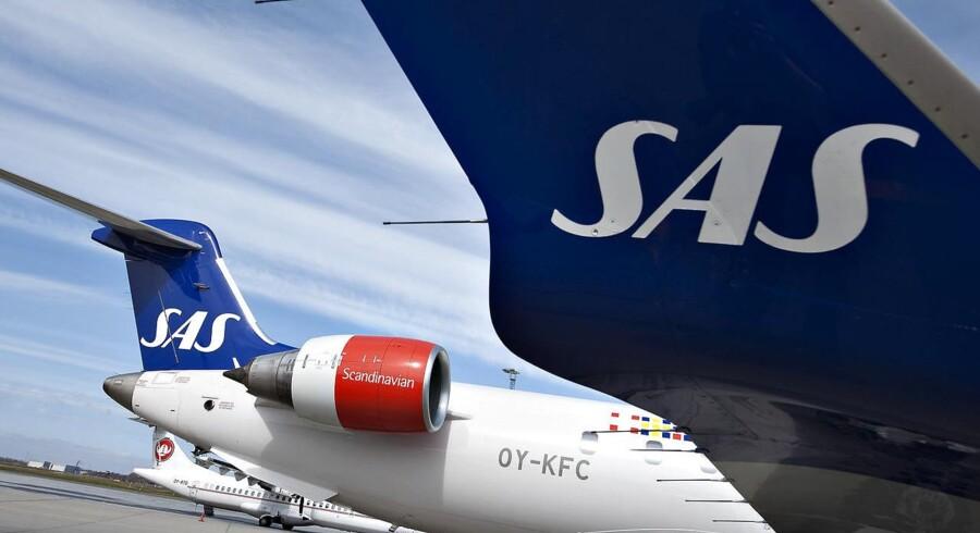ARKIVFOTO: SAS kan sammen med en stribe andre europæiske luftfartsselskaber risikere at løbe ind i en samlet bøde på 800 mio. euro i en gammel EU-sag.