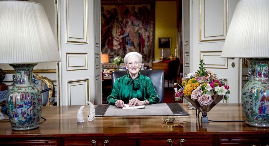 Efter at dronning Margrethes nytårstale sidste år gik i sort hos 1,3 millioner YouSee-kunder, har TDC oprustet og ansat flere IT-sikkerhedsfolk. Arkivfoto: Keld Navntoft, Scanpix