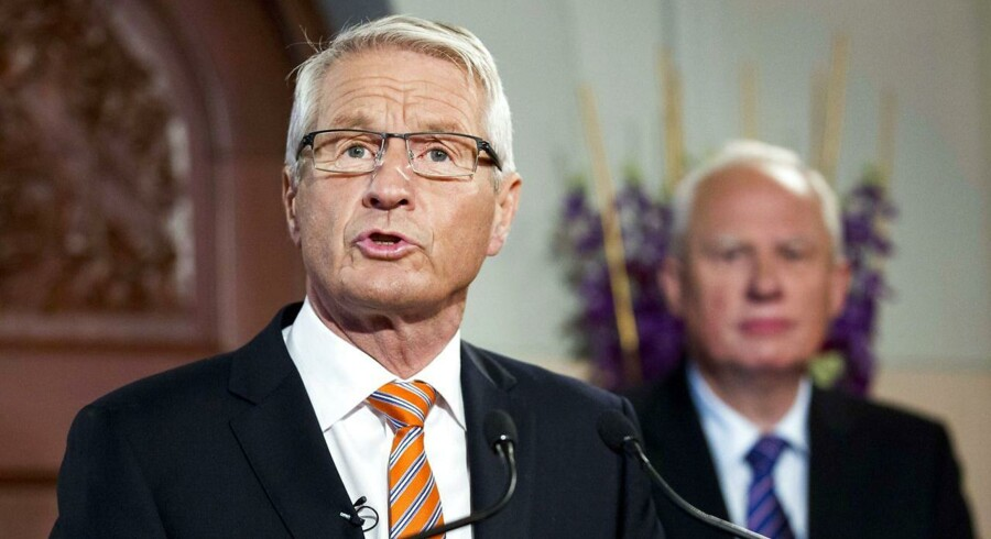 Arkivfoto: Europarådets generalsekretær, Thorbjørn Jagland, beklager udviklingen.