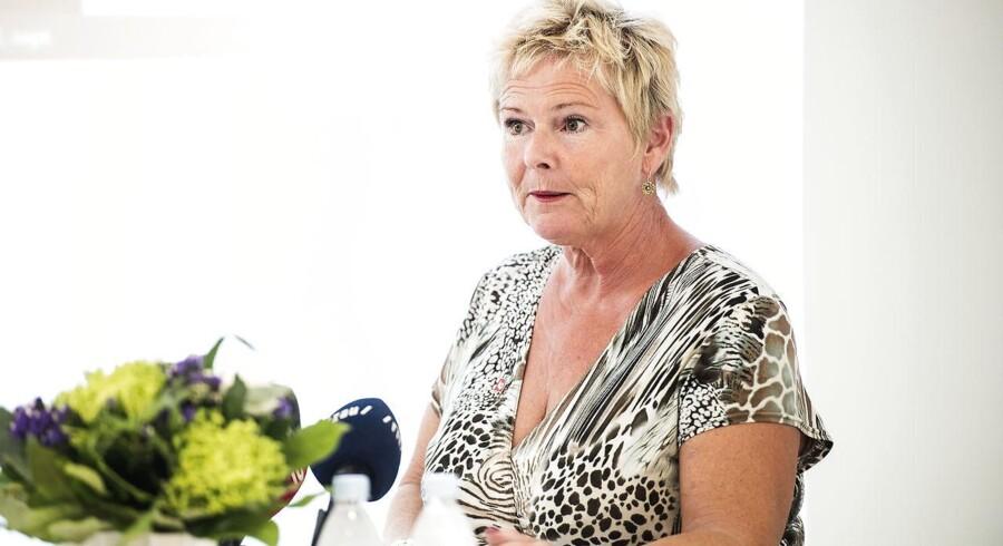 Arkivfoto: Formand for LO Lizette Risgaard.