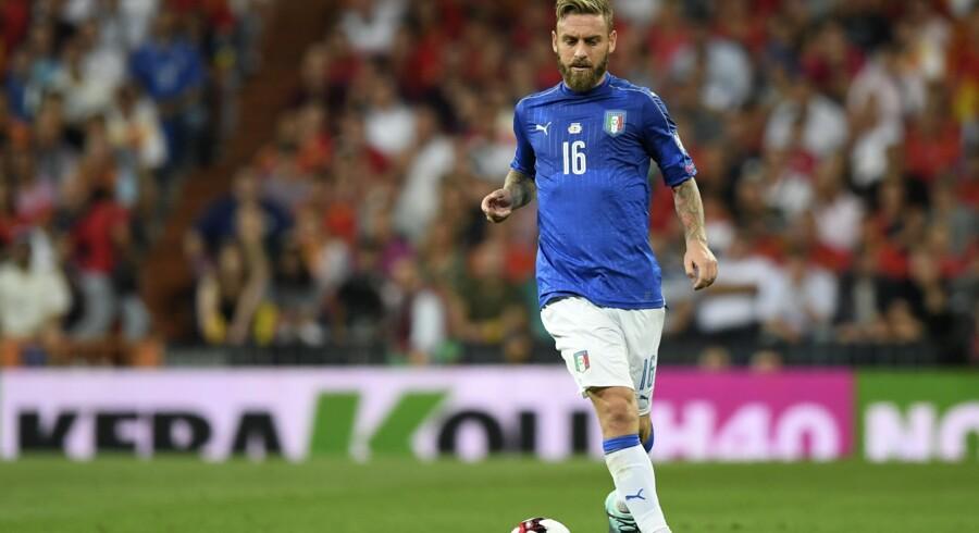 Daniele De Rossi har enorm respekt for Zlatan Ibrahimovic, der ikke længere stiller sig til rådighed for Sverige. Scanpix/Gabriel Bouys