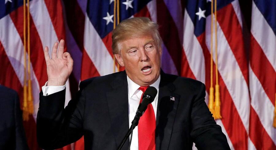 Statsminister Lars Løkke Rasmussen (V) talte onsdag eftermiddag i telefon i omkring ti minutter med den kommende amerikanske præsident Donald Trump.