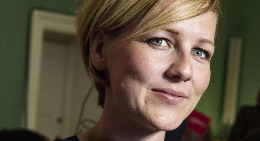 Folketingsvalg2015. Ida Auken (R) til valgfest på Christiansborg.