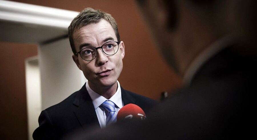 Miljø- og fødevareminister, Esben Lunde Larsen (V).