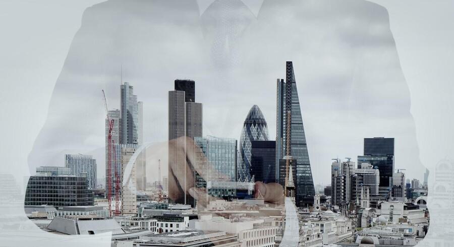 Tabet af job inden for bank, forsikring og kapitalforvaltning til andre EU-lande i forbindelse med brexit, forventes ikke at blive så stort som tidligere frygtet. Foto: Iris.