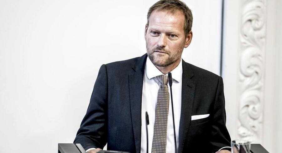 ARKIVFOTO: »Vi går ikke med til en finanslov, der ikke giver flere penge end det, trepartsaftalen stiller i udsigt,« siger finansordfører René Christensen (DF) til Altinget.