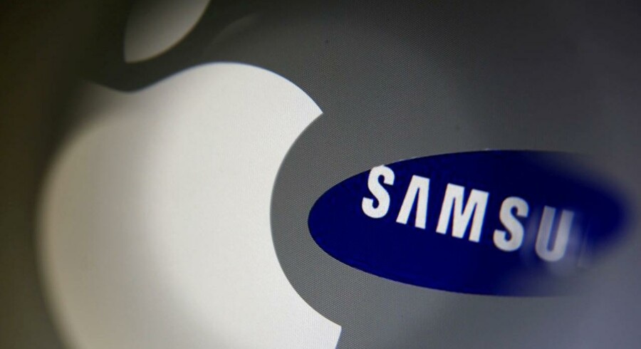 Apple har nappet en bid af Samsungs marked og er rykket op som verdens største smartphoneproducent. Men Samsung gør klar til at rykke tilbage. Arkivfoto: Dado Ruvic, Reuters/Scanpix