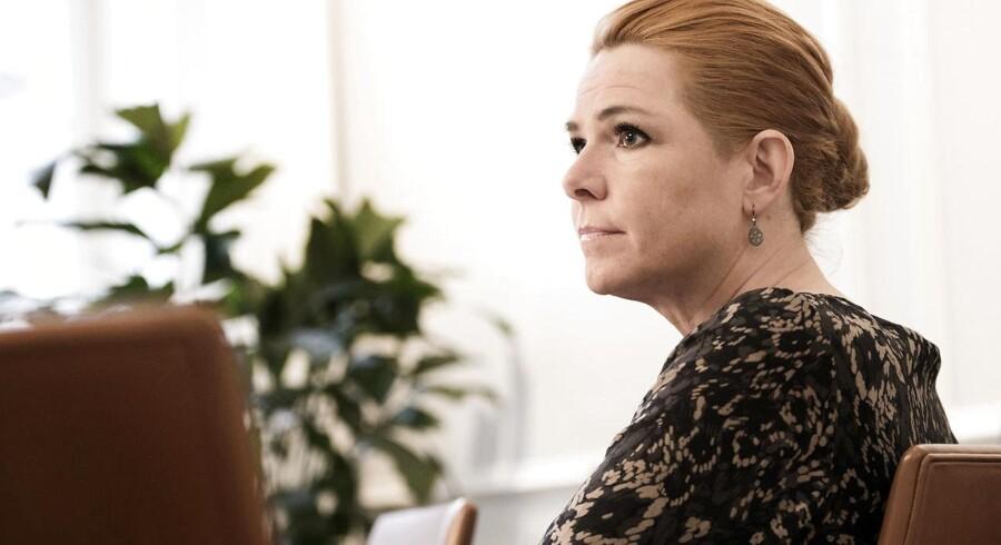 Inger Støjberg. Udlændinge- og integrationsminister.