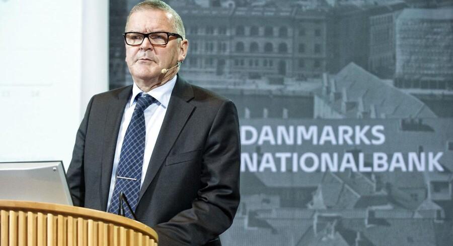 Nationalbankdirektør Lars Rohde kan få travlt efter Trumps valg-sejr i USA.