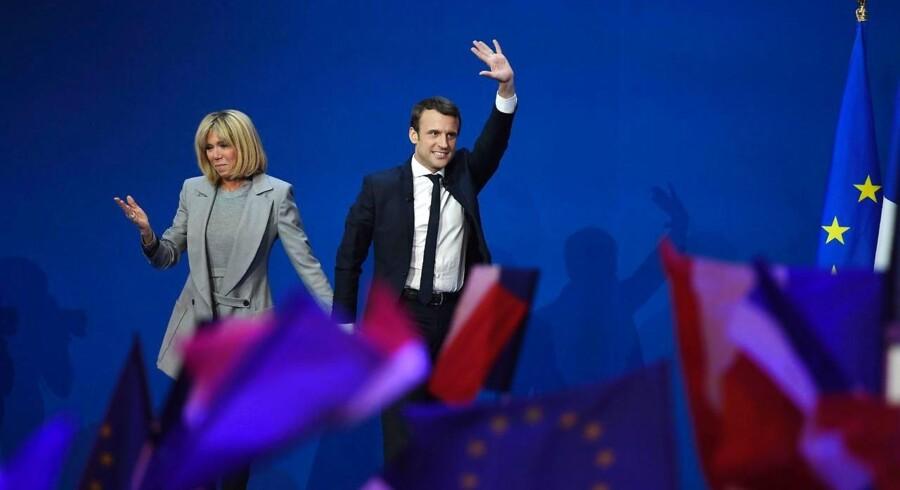 Den tiltrædende franske præsident Emmanuel Macrons bevægelse, »En Marche!« (Fremad), vil ændre navn til »La Republique En Marche« (Republikken i Bevægelse, red.).