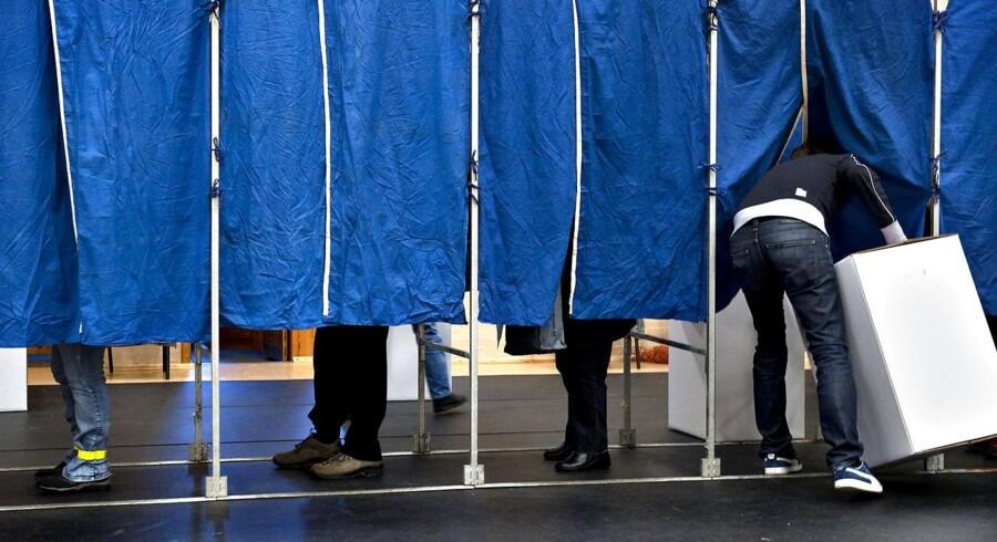 Arkivfoto: Ved sidste kommunalvalg ramte meningsmålingerne så meget forbi, at de ikke var værd at skrive om, mener DR.