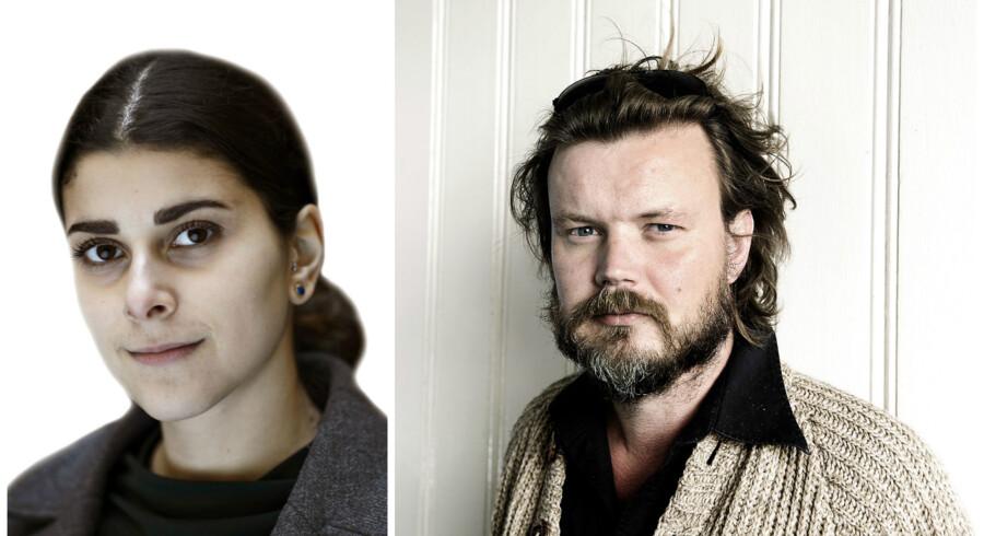 Foto: Philip Davali og Liselotte Sabroe.