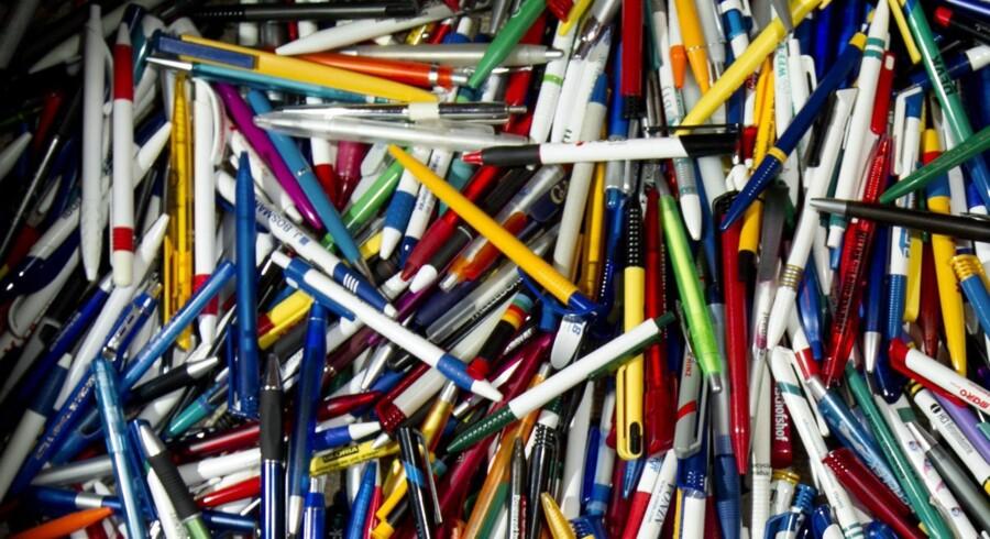 38 mia. kuglepenne produceres der hvert år i Kina – indtil nu med spidser importeret fra bl.a. Japan og Tyskland.