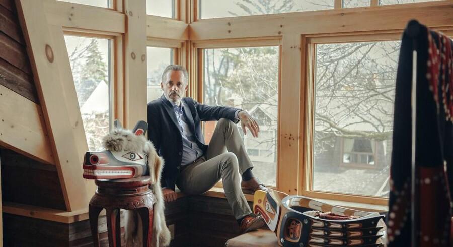 Jordan Peterson er en af de mest succesfulde af nettets borgerlige intellektuelle. (Mark Sommerfeld/The New York Times)