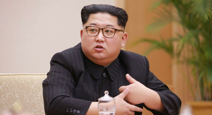 Nordkoreas leder, Kim Jong-un.