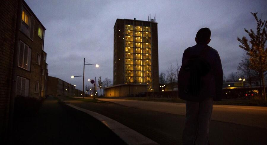 Regeringen vil gerne have en ghettopakke, der tager fat i udfordringerne i bl.a. bydelen Tingbjerg i København.