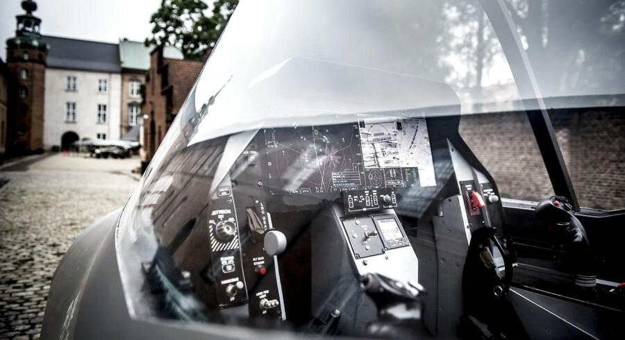 Arkivfoto. Ifølge en beretning fra Rigsrevisionen er der risiko for, at de nye kampfly ikke kan løse de opgaver, som regeringen har lovet Folketinget, og at Danmark dermed får et svagere flyvevåben.