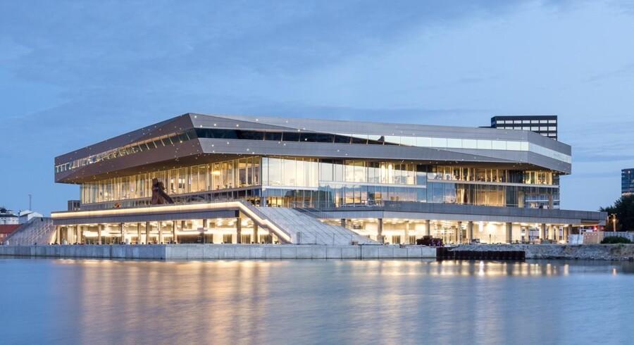Aarhus' nye kulturhus, DOKK1 - skal også rumme nyt DR-studie. Foto: Schmidt Hammer Lassen Architects / Adam Mørk.