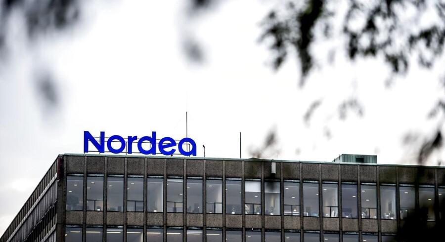 Nordeas danske hovedkontor på Strandgade 3 i København. Nordens største bank besluttede sig onsdag for placeringen af dets juridiske hovedkvarter.
