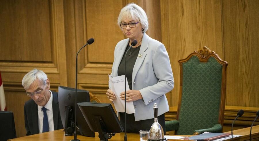 Folketingets formand er imponeret over de unges engagement i Ungdomsparlamentet, der afholdes mandag.