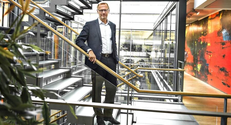 Jyske Banks topchef Anders Dam.