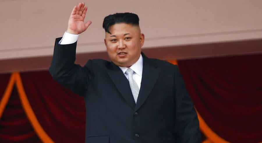 Den nordkoreanske leder Kim Jong Un.