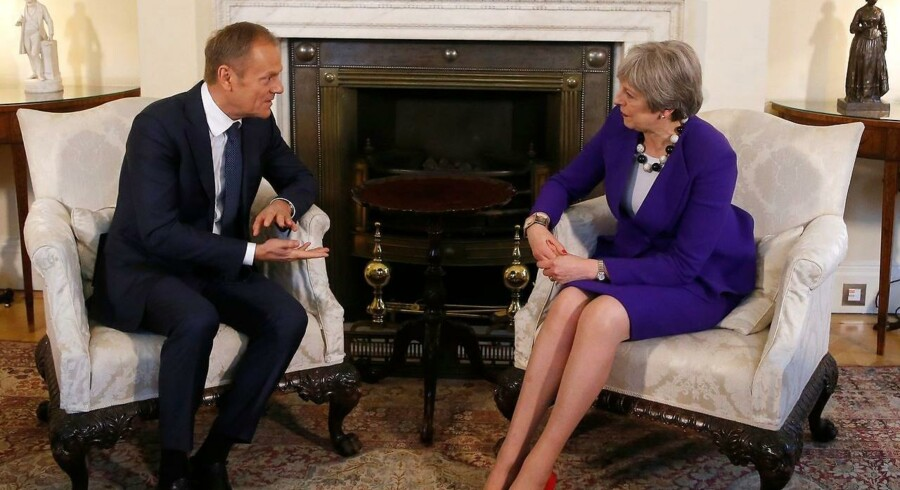 """De to ledere drøftede ifølge en EU-diplomat """"reelle politiske problemer"""" i forbindelse med brexit."""