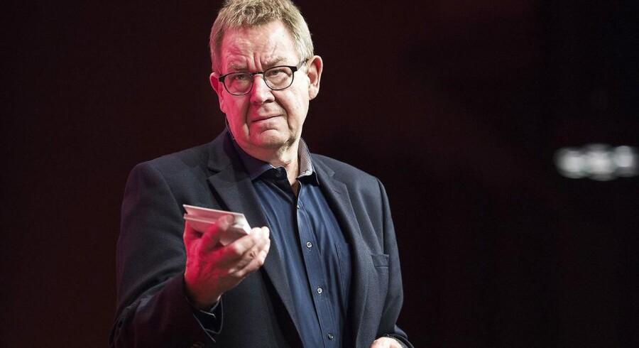 Tidligere statsminister Poul Nyrup Rasmussen kritiserer DONG-salg. (foto: Henning Bagger / Scanpix 2016)