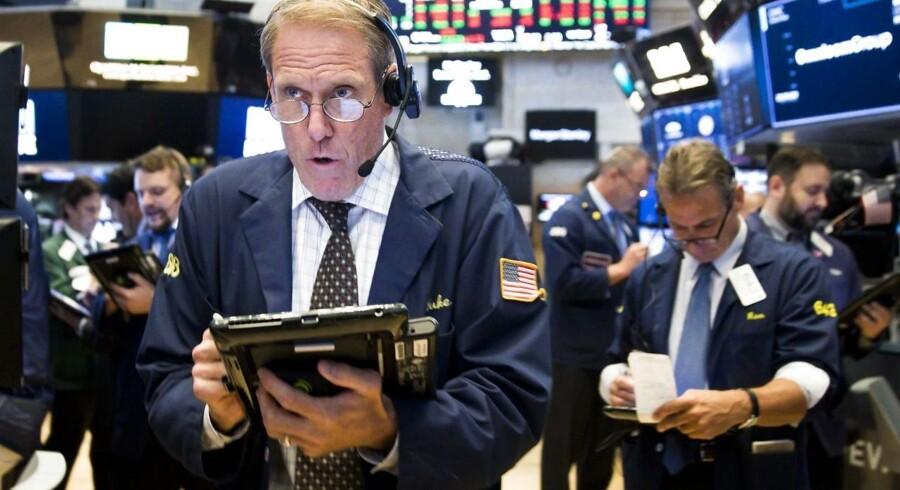 Arkivfoto. De danske obligationsrenter kan sandsynligvis fortsætte gårsdagens stigninger, når børsen åbner torsdag morgen, inden en byge af nøgletal kan sætte dagsordenen for renten i løbet af dagen.