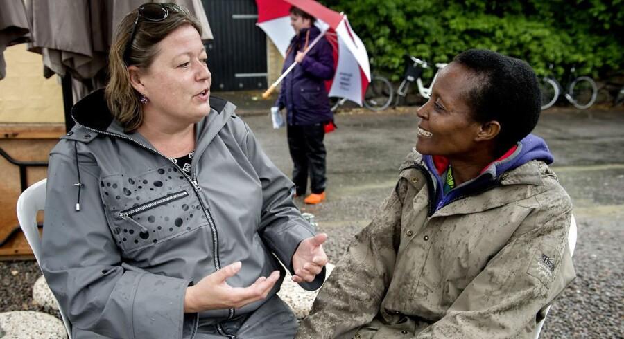 Arkivfoto: Socialdemokraternes udviklingsordfører, Mette Gjerskov, langer ud efter regeringen for at have skåret voldsomt på udviklingsbistanden.